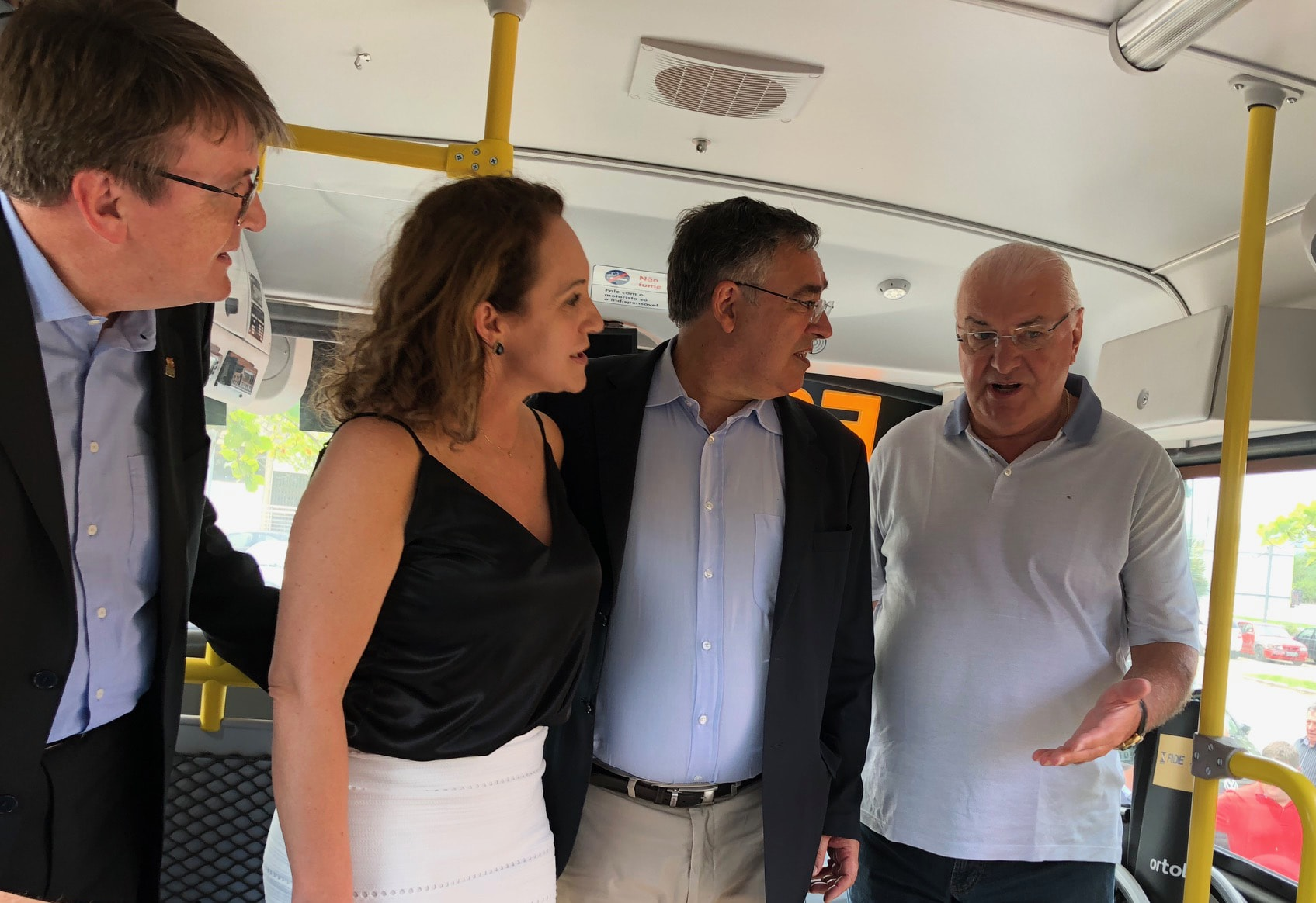 Secretário Eduardo Deschamps, Prefeita Solange Schlichting,  Governador Raimundo Colombo e o empresário Paulo Toniolo, do Grupo DVA-min.jpg