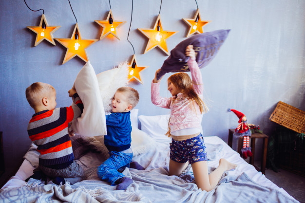 Jogos de festa do pijama para divertir a garotada