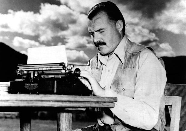 As dicas de Ernest Hemingway para escrever bem
